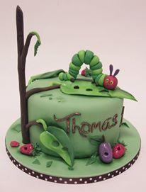 Inch Worm Cake.