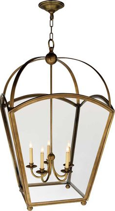 LARGE TAPERED ARCH TOP LANTERN