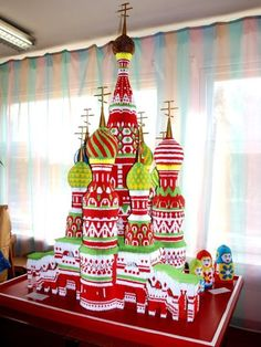 Moscow Cathedrals Origami By Sergei Tarasov