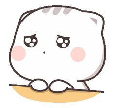 LINE Stickers Cutie Cat-Chan Jimao,Cutie Cat-Chan is coming again !,Stickers,Animated Stickers,Example with GIF Animation Cute Anime Cat, Cute Bunny Cartoon, Cute Kawaii Animals, Cute Cartoon Characters, Cute Cartoon Pictures, Cute Love Pictures, Cute Love Cartoons, Cute Cat Gif, Fictional Characters