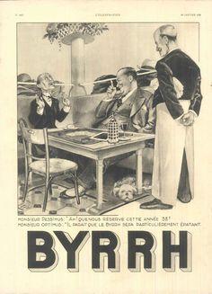 Byrrh - L'Illustration, 22 janvier 1938