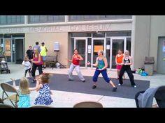 Zumba: Ven a Bailar (On the Floor) JLo Marion GOBA 6/19/2011 - YouTube