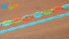 Crochet Cord Tutorial 44 5-Treble Crochet Cluster Stitch