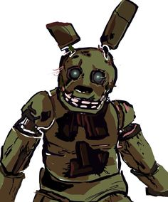 Five Nights at Freddy's 3 - this animal gave me a scare hell of a video .. :') *cry*