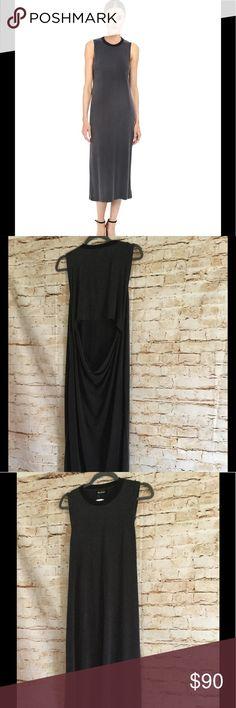 The Kooples jersey rib women's dress Size L new has small stain The Kooples Dresses