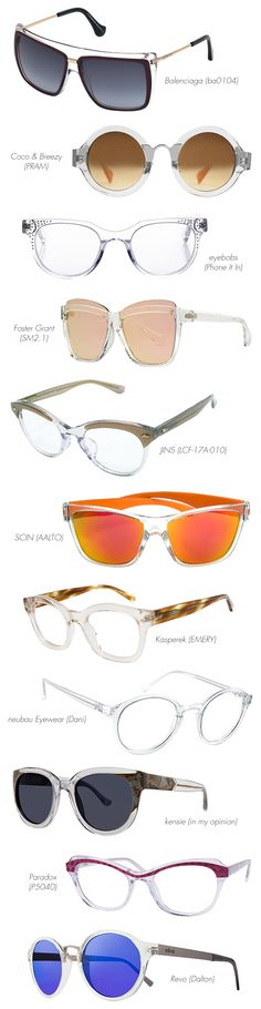 81ad440035 Current Trend  Totally Translucent Frames