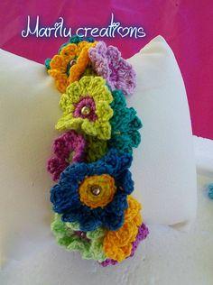 Braccialetto in fiore <3
