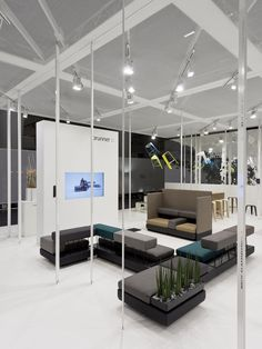 Brunner at Orgatec, Cologne, Germany - Ippolito Fleitz Group Identity Architects