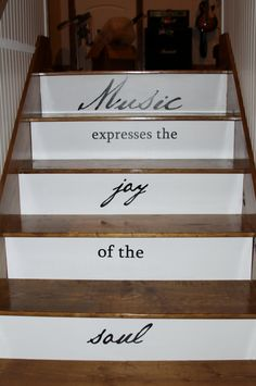 Stairway Expressions to Music room