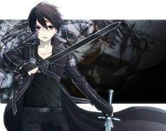 Sword Art Online | A-1 Pictures | Reki Kawahara | abec / Kirito / 「キリト」/「けーた.」のイラスト [pixiv]