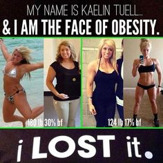 Congratulations to Kaelin! What an amazing Body by Vi Transformation!!!