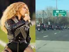 Beyoncé Bashes Cops in Half-Time Show After Getting Police Escort to the Game Kick Off Football, Be Bold Be Strong, Halftime Show, Black Panther Party, Rudy Giuliani, Cops, Beyonce, Police