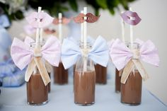 chá de bebe Baby Shower, Bridal Shower, Chocolate, Gift Wrapping, Place Card Holders, Party, Food, Nova Mania, Camila