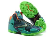 "best loved 6e3d4 a764c Find Nike LeBron 11 ""Miami Vs Akron"" Brave Blue Green Glow-Mineral  Teal-Atomic Pink Lastest online or in Pumaslides. Shop Top Brands and the  latest styles ..."