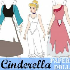 Classic #Disney Princess Paper Dolls (FREE Printables)