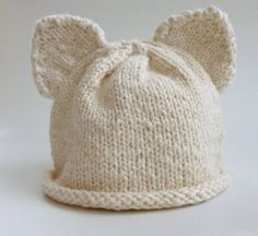 Critter Cap by LaceyDaisyKnits on Etsy, $24.50