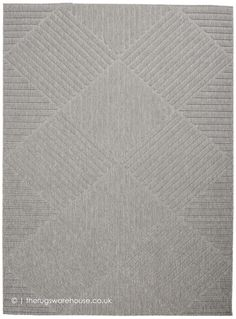 A striking geometric design celebrates texture with a high-low loop pile in crisp squares and stripes. This chic and contemporary Cozumel area rug creates a subtle focal point in any indoor or protected outdoor location. A versatile decorating accent in m Modern Outdoor Rugs, Indoor Outdoor Area Rugs, Silver Grey Rug, Outdoor Living Areas, Cozumel, Grey Rugs, Pillow Design, Colorful Rugs, Accent Decor