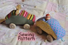 Soft Linkable Car PDF Sewing Pattern by oneinchworld on Etsy, $4.00
