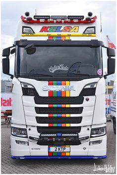 SCANIA: Scania S580 V8 (next gen) Kelsa ''Color Code'' (GB...