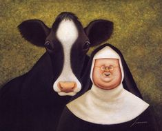 Nuns having sex with a cow