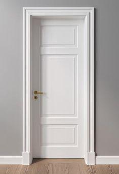 Monument protection and villa doors Interior Door Styles, Door Design Interior, Modern Wood Doors, Wooden Doors, Wooden Door Design, Front Door Design, Classy Living Room, Closet Door Makeover, Dressing Room Closet