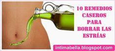 ¿Cómo borrar las estrías? - 10 Remedios caseros que seguro te ayudarán | Intima Bella