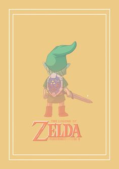 Link | The Legend of Zelda by Raoni Marqs