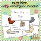 Nutrition/Food Early Emergent Reader...Printable.