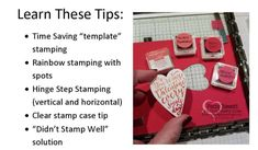 Learn 5 tips to use the Stamparatus Stamp Positioning tool from Stampin' Up! by Patty Bennett. Free Video tutorial!