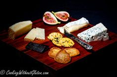 Cheese and fruits board