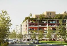 ロンドンの駐車場 brisacgonzalezアーキテクツ