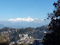 Kanchenjunga over Darjeeling