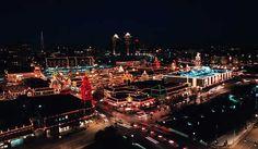 Kansas City Plaza Lights On