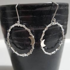 Check out this item in my Etsy shop https://www.etsy.com/listing/549175493/gypsy-moon-earrings-handmade-silver