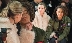 Jaden Smith and girlfriend Sarah Snyder attend Opening Ceremony's NYFW showcase  | Daily Mail Online