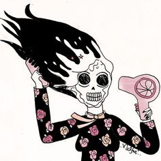 Valfre discovered by Sara. on We Heart It Tumblr Hipster, Hipster Wallpaper, Skeleton Art, Witch Art, Illusion Art, Creepy Dolls, Shopper, Pretty Art, Art Pictures