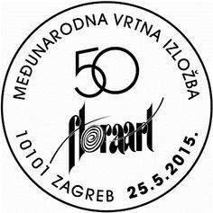 Kroatien Sonderstempel Floraart 2015