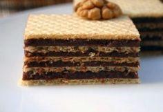 Nápolyi kocka -Kakaós nápolyi 2. Ital Food, Condensed Milk Cake, Desserts Around The World, Hungarian Recipes, Hungarian Food, Thing 1, Something Sweet, Cake Cookies, Cookie Recipes