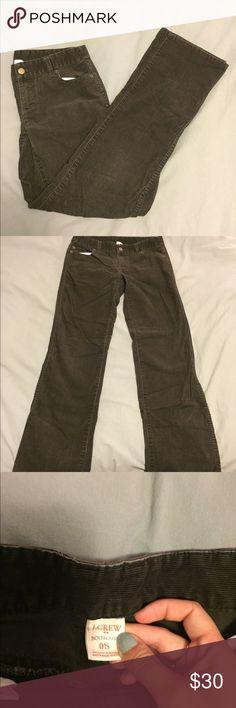 J. Crew brown bootcut corduroy pants LIKE NEW brown bootcut corduroy pants from J. Crew J. Crew Pants