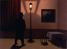 The Night Owl, 1927-28  René Magritte