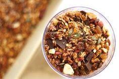Domowa granola przepis Granola, Monkey Business, Acai Bowl, Cereal, Lunch Box, Breakfast, Food, Acai Berry Bowl, Morning Coffee