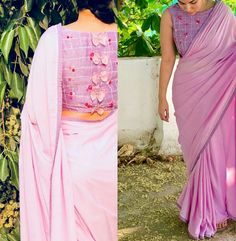 Blouse Designs: Blouse designs imagesAre you searching for the best blouse design images to get beautiful ideas that how to make different designs?So here we have tons of collections of blouse designs different types of patterns and. Saree Jacket Designs, Wedding Saree Blouse Designs, Best Blouse Designs, Saree Blouse Neck Designs, Kurta Neck Design, Stylish Blouse Design, Designer Blouse Patterns, Saree Fashion, Fashion Blouses