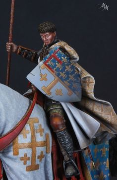 знаменосец 1-й Карла анжуйского в конце XIII-го С.