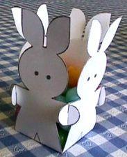 Un cestino di Pasqua con i conigli. Speciale Pasqua 2017. Sottocoperta.Net: il portale di Viaggi, Enogastronomia e Creatività