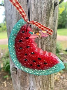 Diy Air Freshner, Homemade Air Freshener, Car Air Freshener, Watermelon Car, Cow Gifts, Aroma Beads, Diy Shops, Etsy Crafts, Diy Arts And Crafts