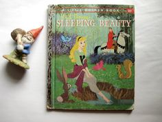 Still on a hunt for original Golden Books, and was delighted by this one- Sleeping Beauty - Told by Annie North Bedford and adapted by Julius