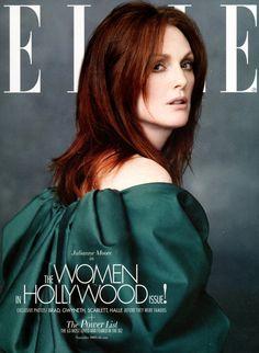 Julianne Moore by Alexei Hay for Elle US (November 2009).