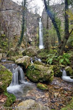 Cascadas de Oneta / Oneta Falls #Villayón #Asturias #MonumentoNatural…