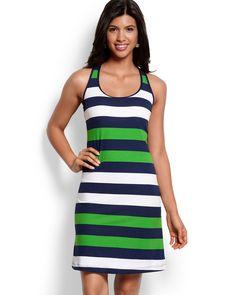 Mare Rugby Stripe Tank Dress