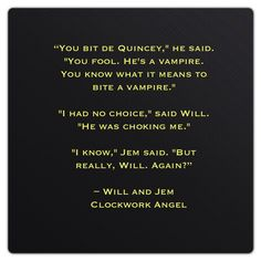 "William ""Will"" Herondale and James ""Jem"" Carstairs (Clockwork Angel by Cassandra Clare)"